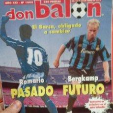 Coleccionismo deportivo: DON BALON ROMARIO PASADO BERGKAMP FUTURO . Lote 52879917