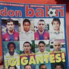 Coleccionismo deportivo: DON BALON BARCA Y MADRID MAS GRANDES QUE NUNCA GIGANTES . Lote 52880014