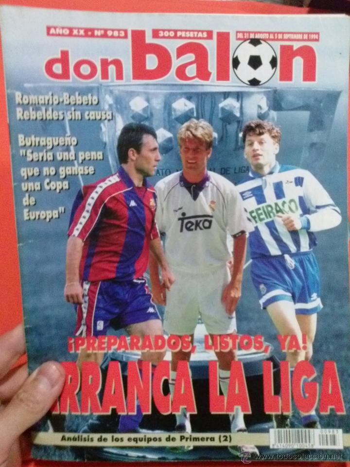 DON BALON PREPARADOS LISTOS ARRANCA LA LIGA (Coleccionismo Deportivo - Revistas y Periódicos - Don Balón)