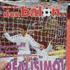 Coleccionismo deportivo: DON BALON REALISIMO UN GRAN MADRID LE DEVUELVE EL 5-0 AL BARCELONA. Lote 52880167