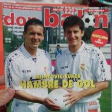 Coleccionismo deportivo: DON BALON MIJATOVIC SUKER HAMBRE DE GOL . Lote 52880216