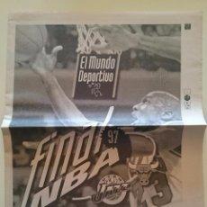 Coleccionismo deportivo: SUPLEMENTO FINAL 1 JUNIO 1997 NBA BALONCESTO MICHAEL JORDAN CHICAGO BULLS - UTAH JAZZ. Lote 53045704