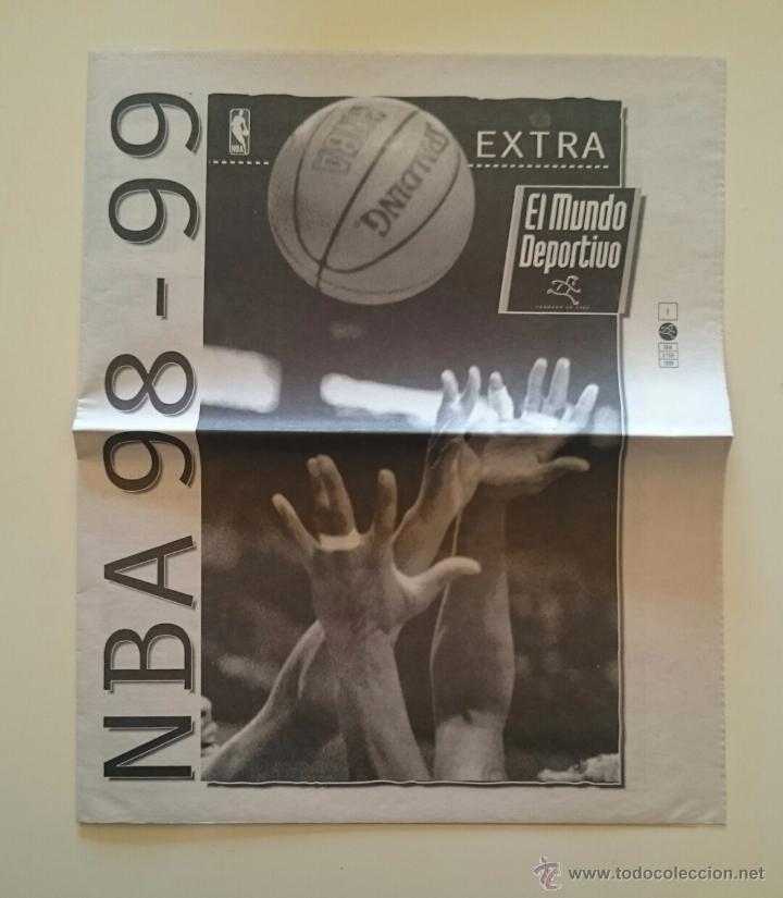 SUPLEMENTO NBA 98-99 BALONCESTO 3 FEBRERO 1999 LA TEMPORADA DEL LOCK-OUT (Coleccionismo Deportivo - Revistas y Periódicos - Mundo Deportivo)