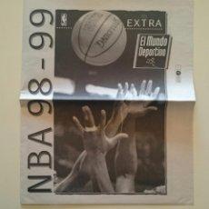 Coleccionismo deportivo: SUPLEMENTO NBA 98-99 BALONCESTO 3 FEBRERO 1999 LA TEMPORADA DEL LOCK-OUT. Lote 53045764