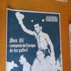 Coleccionismo deportivo: PERIÓDICO VIDA DEPORTIVA 22-7-1963 BEN ALÍ BOXEADOR ESPAÑOL CAMPEÓN DE EUROPA DE LOS GALLOS BOXEO. Lote 53110865