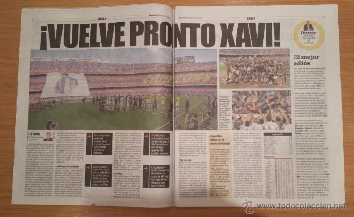 Coleccionismo deportivo: Mundo Deportivo [24 de mayo de 2015][Número 30.210][Campeones de La Liga 14/15 y despedida de Xavi] - Foto 3 - 53168792