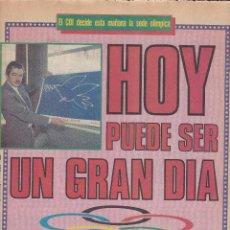 Coleccionismo deportivo: SPORT Nº 2493 EL COI DECIDE HOY LA SEDE OLIMPICA DE BARCELONA 1992 (MARAGALL EN PORTADA). Lote 53178173