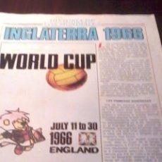 Coleccionismo deportivo: HISTORIA DE LOS MUNDIALES. INGLATERRA 1966 DONBALON. FASCICULOS. EST23B1. Lote 53272702