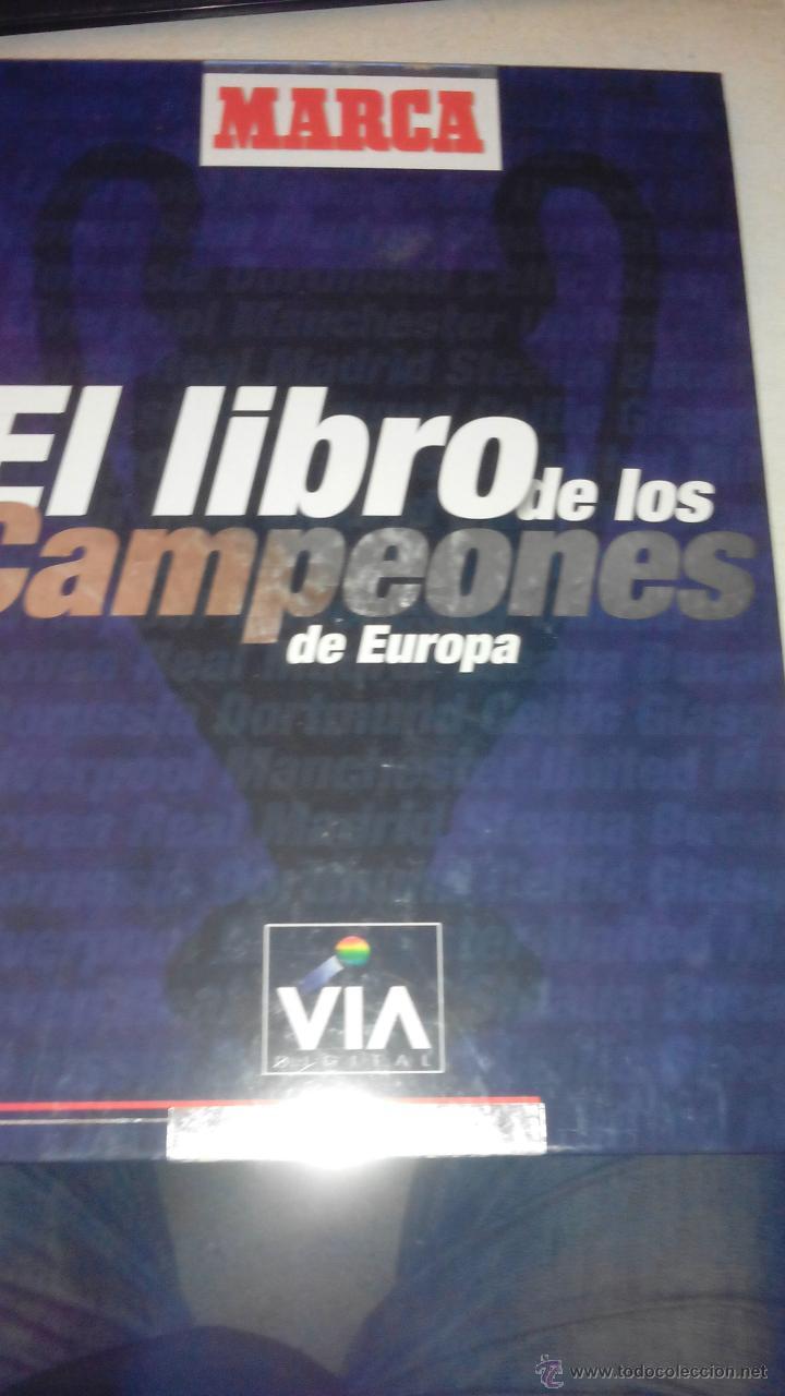 MARCA - EL LIBRO DE LOS CAMPEONES DE EUROPA (Coleccionismo Deportivo - Revistas y Periódicos - Marca)