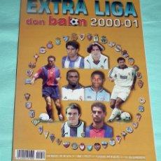 Coleccionismo deportivo: DON BALON - EXTRA LIGA 00-01. Lote 53287690