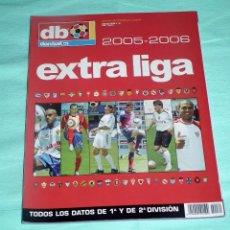 Coleccionismo deportivo: DON BALON - EXTRA LIGA 05-06. Lote 53287763