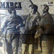 Coleccionismo deportivo: DIARIO MARCA MAYO 1948 ESPAÑOL REAL MADRID INAUGURACION STADIUM CASABLANCA ZARAGOZA BARACALDO. Lote 53289873