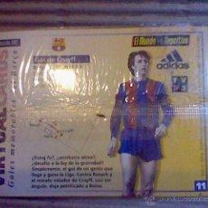 Collectionnisme sportif: HOLOGRAMA VIRTUAL CARD TIPO TARJETA GOLES MEMORABLES BARCELONA MUNDO DEPORTIVO Nº 11 CRUYFF. Lote 53305811