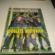 Coleccionismo deportivo: REVISTA DON BALON FALTA POSTER CENTRAL NUMERO 867 DOBLETE HISTORICO BARCELONA BARCA ALGUNAS FOTO NO . Lote 107355080