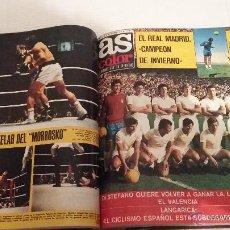 Coleccionismo deportivo: AS COLORR: TOMO 2 - NUMEROS DEL 26 AL 53 AÑO 1971. Lote 53355057