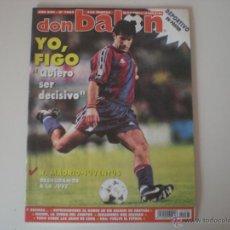 Coleccionismo deportivo: REVISTA DON BALÓN AÑO 1996 - XXII (Nº 1063) . Lote 53429880