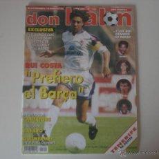 Coleccionismo deportivo: REVISTA DON BALÓN AÑO 1996 - XXII (Nº 1102) . Lote 53430006