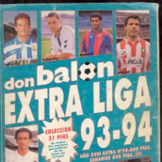 Coleccionismo deportivo: DON BALON - EXTRA LIGA 93-94. Lote 53494727