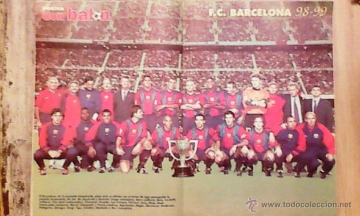 Coleccionismo deportivo: don balon nº 1197 camacho / champions league /poster fc barcelona ** - Foto 2 - 19108669