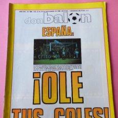 Coleccionismo deportivo: DON BALON Nº 684 1988 SELECCION ESPAÑOLA-POSTER BALTAZAR ATLETICO DE MADRID 88789-ELCHE CF-SD EIBAR. Lote 53563831