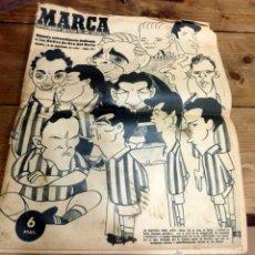 Coleccionismo deportivo: MARCA - 16 DICIEMBRE 1958 - Nº EXTRAORDINARIO DEDICADO A LAS BODAS DE ORO DEL BETIS -. Lote 53566307
