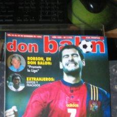 Coleccionismo deportivo: REVISTA DON BALON N 1106.1996.POSTER REAL MADRID 96/97.. Lote 53615218