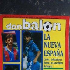 Coleccionismo deportivo: REVISTA DON BALON N 777.POSTER STOICHKOV.FC.BARCELONA.. Lote 53629276