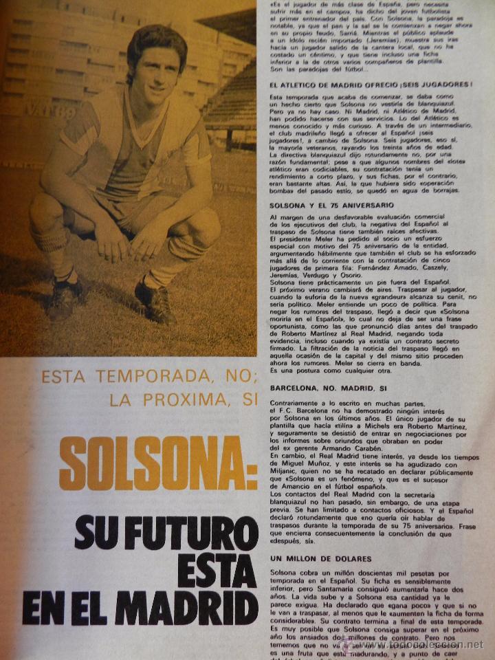 Coleccionismo deportivo: DON BALON Nº 1 1975 POSTER SOTIL FC BARCELONA 75/76 PRIMERA REVISTA NUMERO UNO COLECCIONISTA - Foto 5 - 105264571