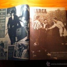 Coleccionismo deportivo: TOMO PERIÓDICO MARCA AÑO 1949. 23 EJEMPLARES. LISTADO VER DESCRIPCIÓN. FÚTBOL. Lote 53790775