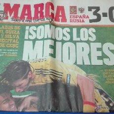 Coleccionismo deportivo: MARCA - EUROCOPA, 27 DE JUNIO 2008. SOMOS LOS MEJORES.. Lote 53817304