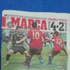 Coleccionismo deportivo: MARCA - EUROCOPA, 23 DE JUNIO 2008. IKER CAMBIA LA HISTORIA.. Lote 53817361