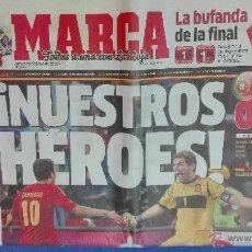 Coleccionismo deportivo: MARCA - EUROCOPA, 28 DE JUNIO 2012. NUESTRO HEROES.. Lote 53817396