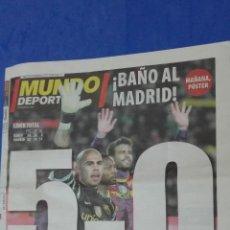 Coleccionismo deportivo: MUNDO DEPORTIVO - 30 NOVIEMBRE 2010. . Lote 53817443