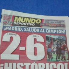 Coleccionismo deportivo: MUNDO DEPORTIVO - 03 MAYO 2009. HISTORICO. . Lote 53817454
