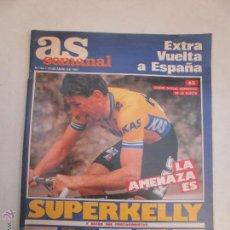 Coleccionismo deportivo: DOMINICAL DE AS EXTRA VUELTA A ESPAÑA 1987. Lote 53836703