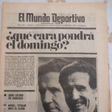 Coleccionismo deportivo: MUNDO DEPORTIVO(22-11-80)!! LASSE VIREN SE RETIRA !!,URRUTI RECUPERADO,JUNCOSA(AT.MADRID)-FOTOS. Lote 53841502