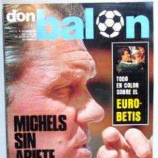 Coleccionismo deportivo: DON BALÓN , REVISTA FÚTBOL , AÑO 1977 , Nº 90 , PORTADA KUBALA. Lote 53880463