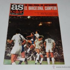 Coleccionismo deportivo: (M) AS COLOR , EL FC BARCELONA CAMPEON , FC BARCELONA 4 VALENCIA FC 3 - FINAL DE COPA DEL REY 1971. Lote 53938211
