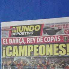 Coleccionismo deportivo: MUNDO DEPORTIVO - ( CAMPEON DE COPA DEL REY). 14 MAYO DE 2009.. Lote 53964695