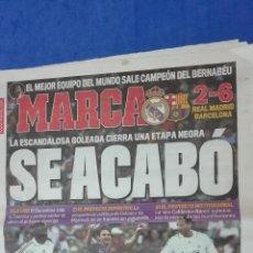 Coleccionismo deportivo: MARCA - SE ACABO, 3 MAYO 2009. Lote 53965079
