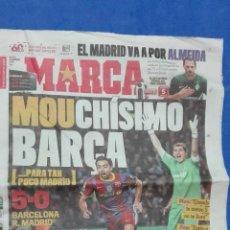 Coleccionismo deportivo: MARCA - MOUCHÌSIMO BARCA, 30 NOVIEMBRE 2010.. Lote 53965172