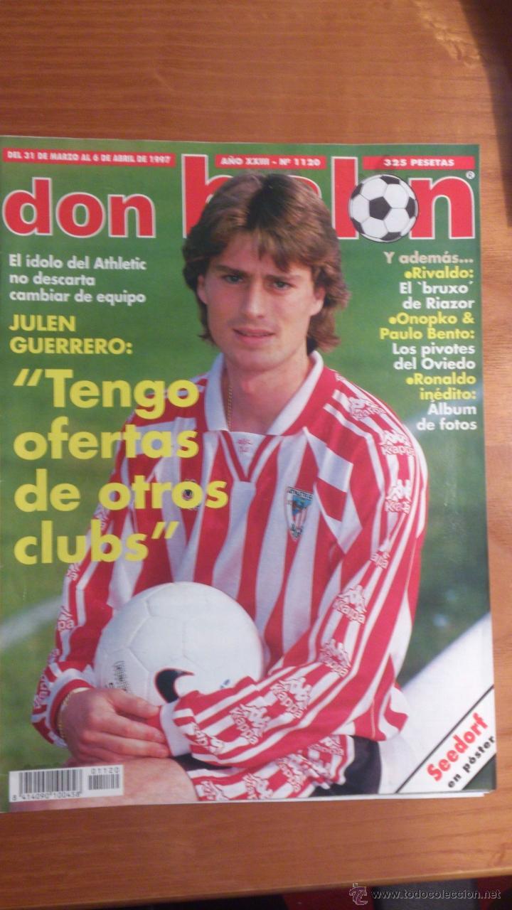REVISTA DON BALON Nº 1120. JULEN (Coleccionismo Deportivo - Revistas y Periódicos - Don Balón)