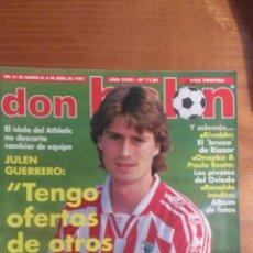 Coleccionismo deportivo: REVISTA DON BALON Nº 1120. JULEN. Lote 54069667