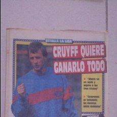 Coleccionismo deportivo: DIARIO SPORT 1989. Nº 3530. Lote 54161253