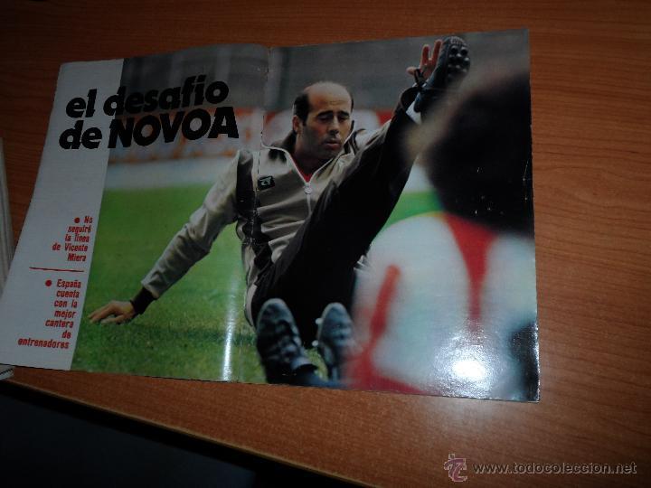 Coleccionismo deportivo: DON BALON Nº 202 1979 REPORTAJE COLOR DIARTE VALENCIA SEVILLA PORTADA SANTILLANA - Foto 2 - 54163571