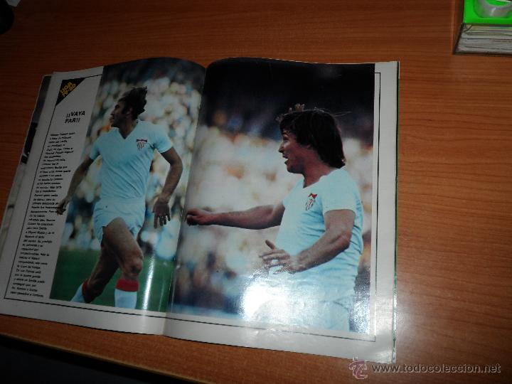Coleccionismo deportivo: DON BALON Nº 202 1979 REPORTAJE COLOR DIARTE VALENCIA SEVILLA PORTADA SANTILLANA - Foto 7 - 54163571