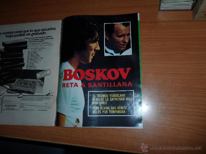 Coleccionismo deportivo: DON BALON Nº 202 1979 REPORTAJE COLOR DIARTE VALENCIA SEVILLA PORTADA SANTILLANA - Foto 9 - 54163571