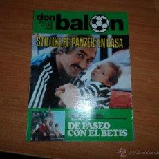 Coleccionismo deportivo: DON BALON Nº 229 1980 REPORTAJE COLOR GRAN ESPECIAL REAL BETIS- REAL MADRID - CELTIC DE GLASGOW. Lote 54209427