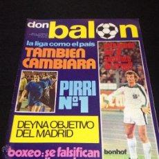Coleccionismo deportivo: REVISTA DON BALON Nº 23 NO DEL FUTBOL CLUB F.C BARCELONA FC BARÇA CF 1976 PIRRI Nº1 BONHOF CRUYFF. Lote 54230210