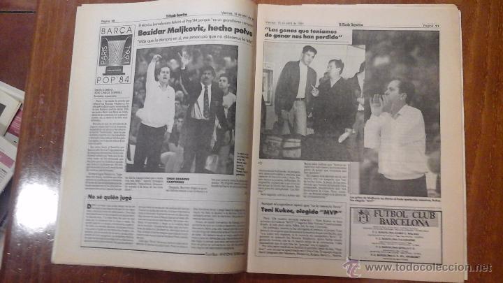Coleccionismo deportivo: FINAL FOUR BASKET AÑO 1991.BARCELONA - Foto 5 - 54256442